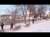 Встреча Олимпийского огня - 20 декабря 2013 г Уфа,  Монумент дружбы